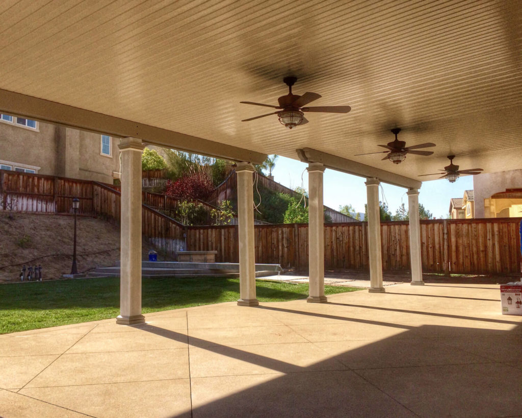Solid Attached Patio Covers