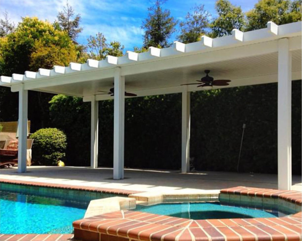 Solid Freestanding Patio Covers