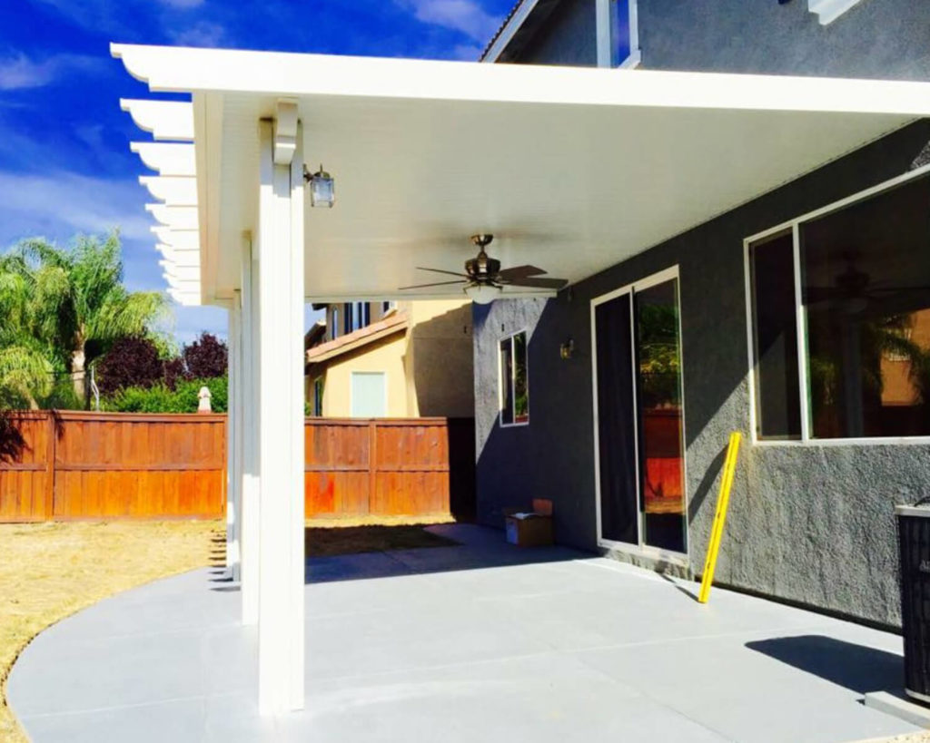 Insulated Attached Patio Cover