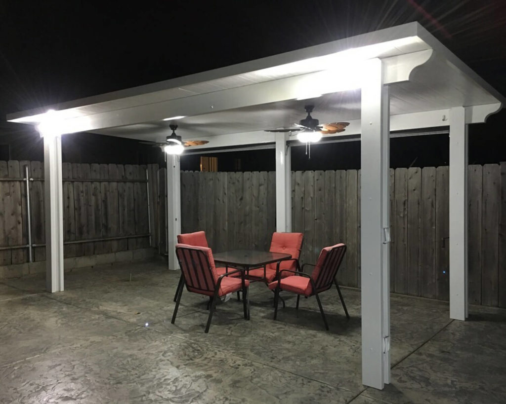 Insulated Freestanding Patio Cover